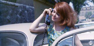 Telefonálás 1969-ben - forrás: fortepan/Főfotó