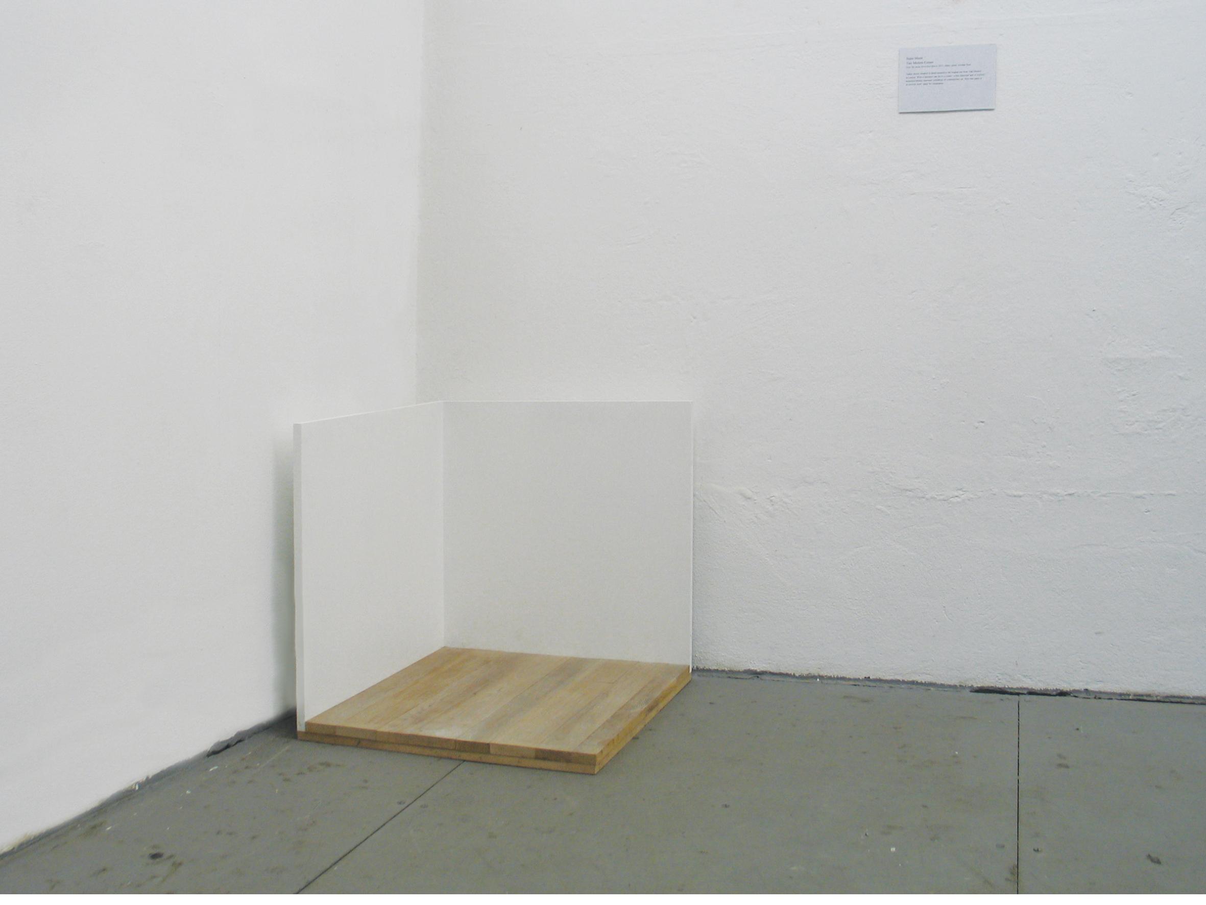 Stano Masár: Tate Modern-sarok az Áthelyezett terek sorozatból, 2012; A művész jóvoltából