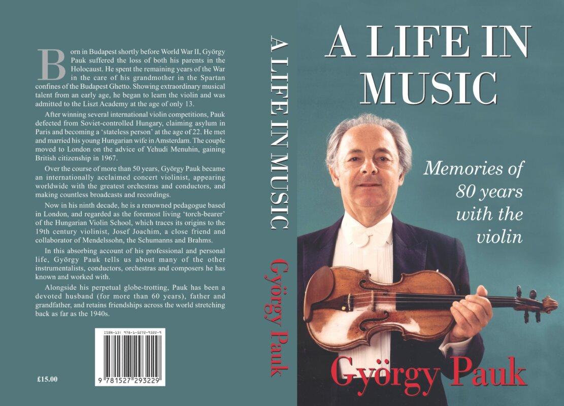 Pauk György életrajzi kötete angolul