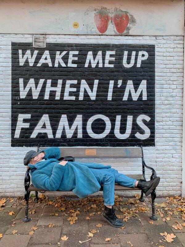 """""""Ébressz fel, ha híres lettem!"""" Fotó: Pexels"""