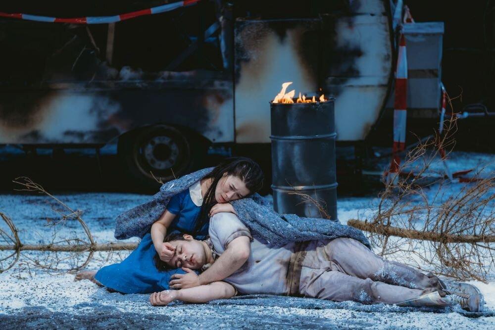 Karen Vuong és Gerard Schneider a III. felvonásban  - fotó: TFE Presse