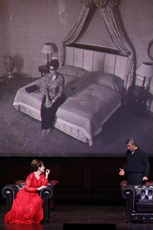 Jonas Kaufmann és Anja Harteros - fotó: Wilfried Hösl