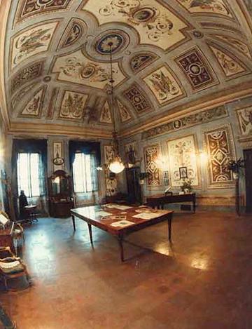 Palazzo Orlandi / A nagy szalon - forrás: bussetolive.com