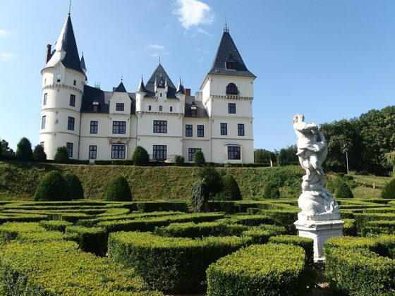 Andrássy-kastély, Tiszadob - forrás: Wikipédia
