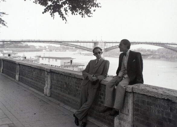 Szeged, Tisza-part, 1941 / Fortepan