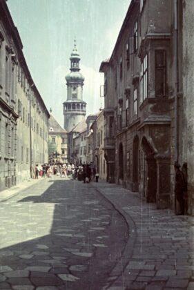 Sopron, belváros, A császár parancsára (werk), 1955 / forrás: Fortepan