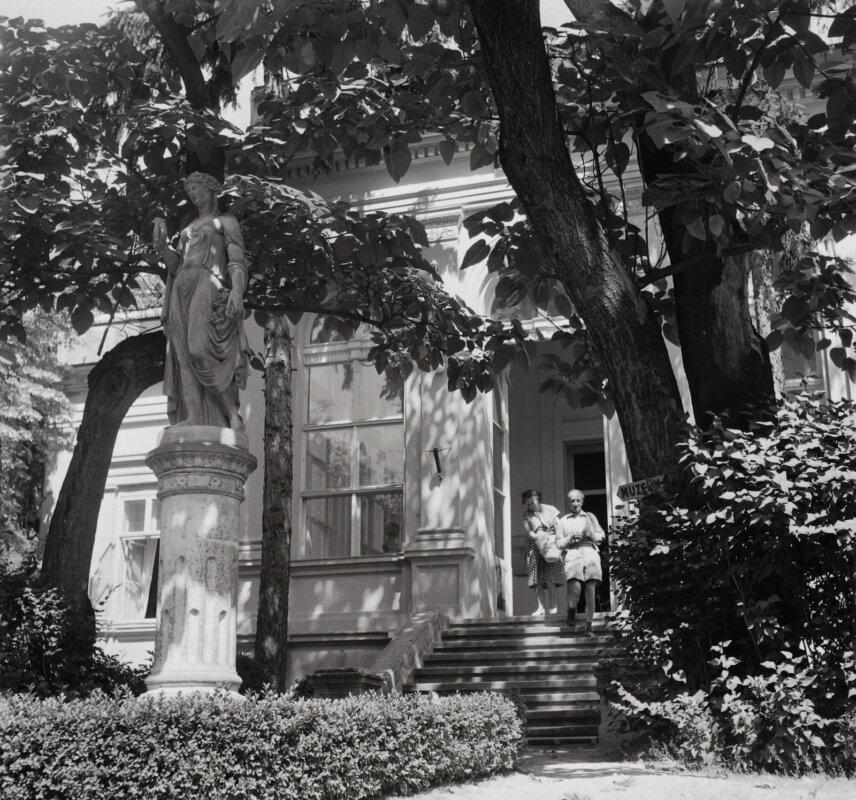 Jókai-villa, Balatonfüred - Fotó: Szalay Zoltán, 1961/ Fortepan
