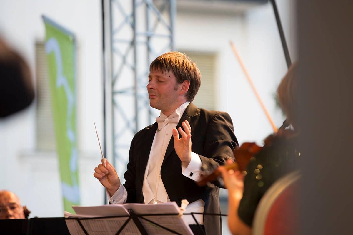 Káli Gábor karmester - forrás: Klassz a pArton