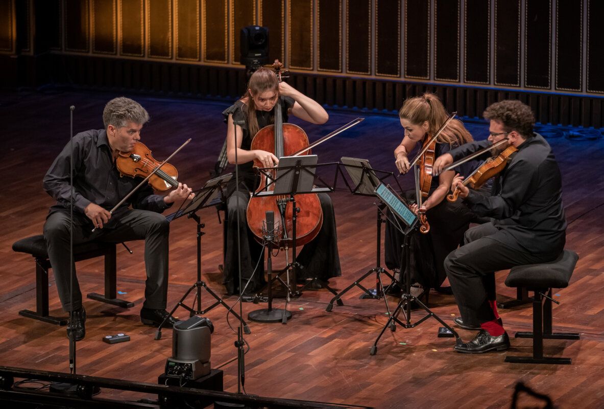 Kelemen Kvartett - fotó: Posztós János