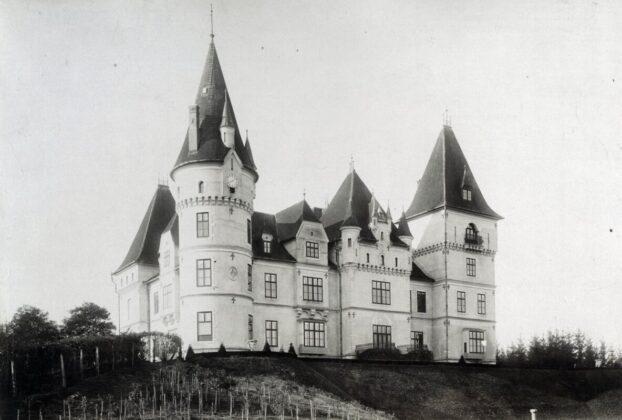 Tiszadob, Andrássy-kastély / Forrás: Budapest Főváros Levéltára / Fortepan