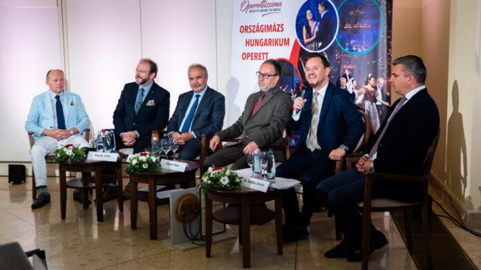 Glatz Attila, Kiss-B. Atilla, Dr. Nagy István, Fekete Péter, Nacsa Olivér, Vadász Dániel - fotó: 4K Media Stúdió