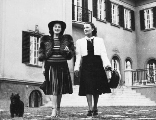 Bajor Gizi és Elsa Merlini, 1940 / Fortepan