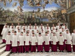 A vatikáni Sixtus-kápolna kórusa