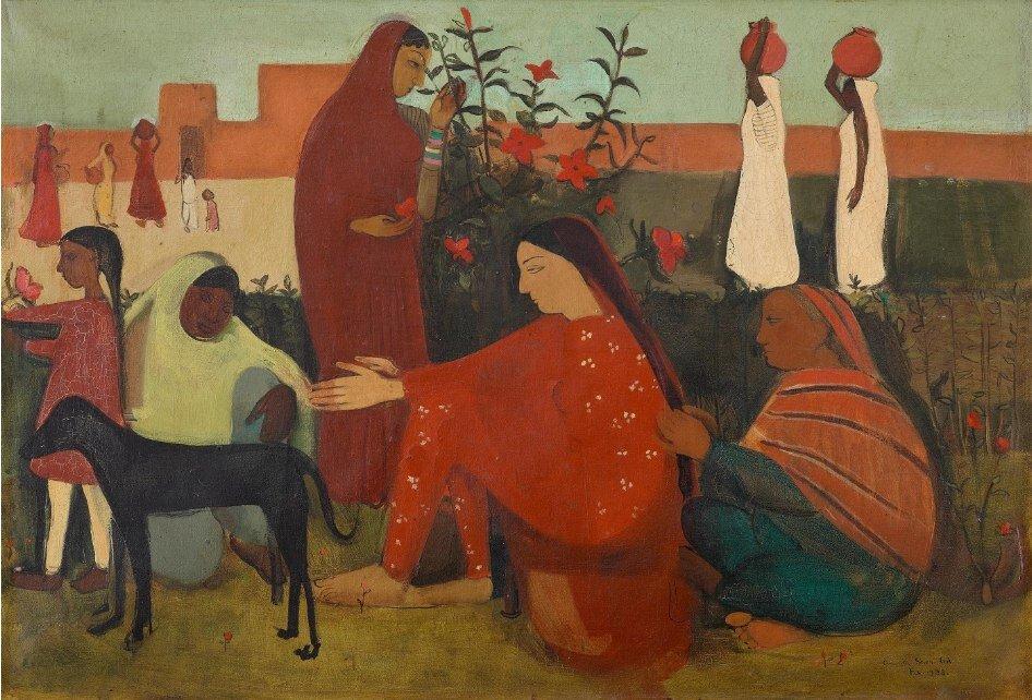 Amrita-Nők udvara
