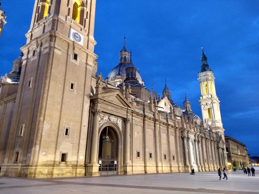 A zaragozai El Pilar Bazilika - Fotó: Marton Ildikó/KultúrExpress