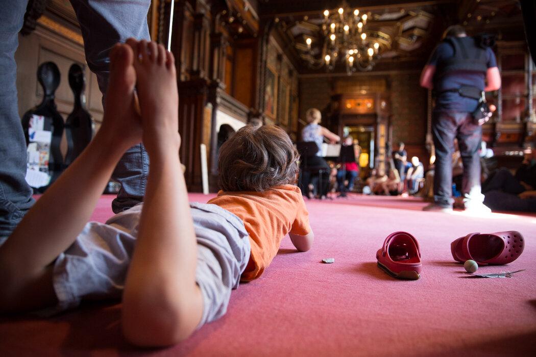 Music Gallery in Grafenegg - fotó: Sebastian Philipp