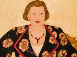 Fülöp Antal Andor: Margit húgom – forrás: Quadro Galéria