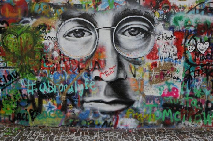 A prágai John Lennon-fal