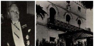 Marosy Ferenc - és az egykori királyi követség épülete a Castellana 49. szám alatt. - Forrás: Köztársaság