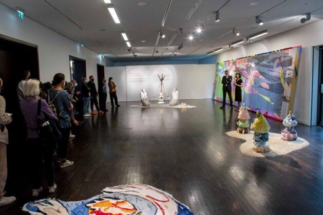 A kiállítás - forrás: NOW Esterházy Contemporary