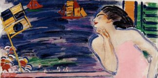 János Vaszary - Itáliai emlék, 1930 - forrás: Kieselbach Galéria