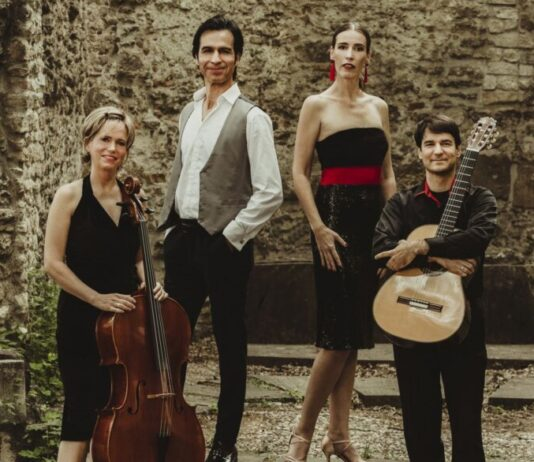 Volver La Vida kvartett 2021 - forrás: Bach Mindenkinek Fesztivál