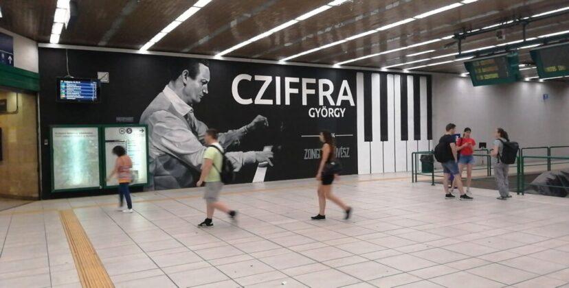 Cziffra-graffiti a Batthyány téren - fotó: Berta Hajnalka