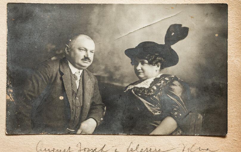 Auguszt E. József és Helvey Vilma, a második generáció - forrás: Auguszt Cukrászda oldala