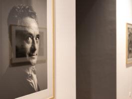 Benjamin Katz fotói Gerhard Richterről a Valós látszat kiállításban. - forrás: Szépművészeti Múzeum - Magyar Nemzeti Galéria / Fotó: Szántó András