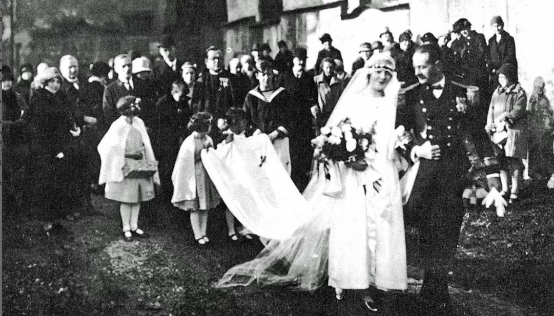 Maria és von Trapp báró igazi esküvője - forrás: salzburg.info