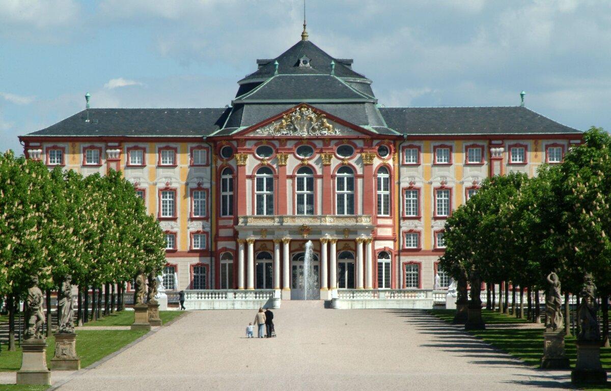 A bruchsali kastély - Forrás / fotó: Staatliche Schlösser und Gärten Baden-Württemberg, Christoph Hermann