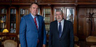 L. Simon László és Kásler Miklós - forrás: L. Simon László Facebook-oldala