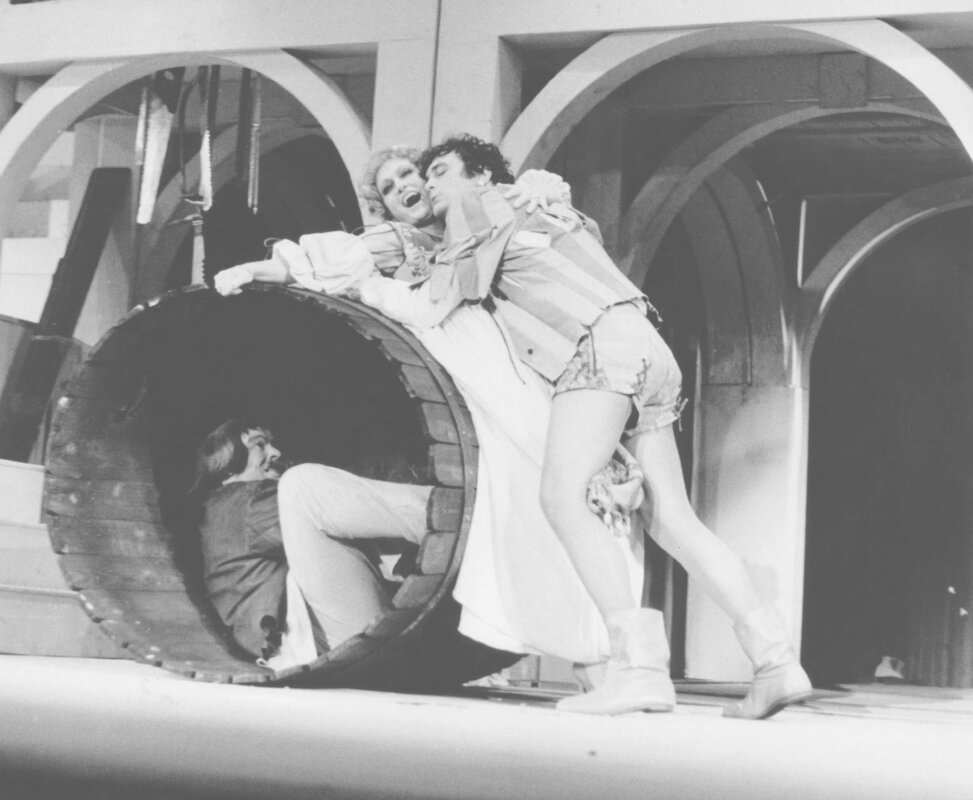 Suppé: Boccaccio – 1982 Marik Péter (Lotteringhi) – Domonkos Zsuzsa (Izabella) – Farkas Bálint (Pietro)