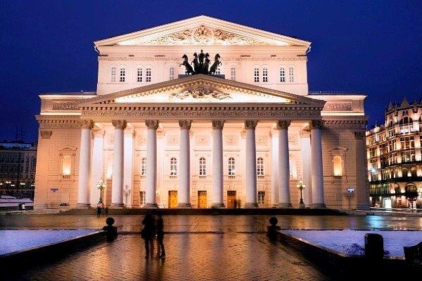 A moszkvai Bolsoj Színház - forrás: Wikipédia
