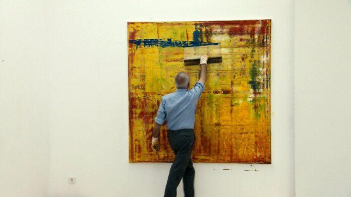Gerhard Richter - forrás: Cirko Film