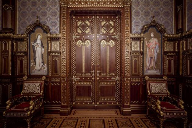 A Szent István-terem Forrás Várkapitányság