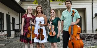 A fotón balról: Eveline Meier, Ábrahám Márta, Kis Imola Villő, Schweigert György - Fotó:Gálos Samu