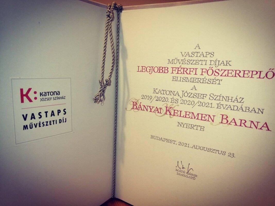 Vastaps-díj - fotó: Horváth Máté