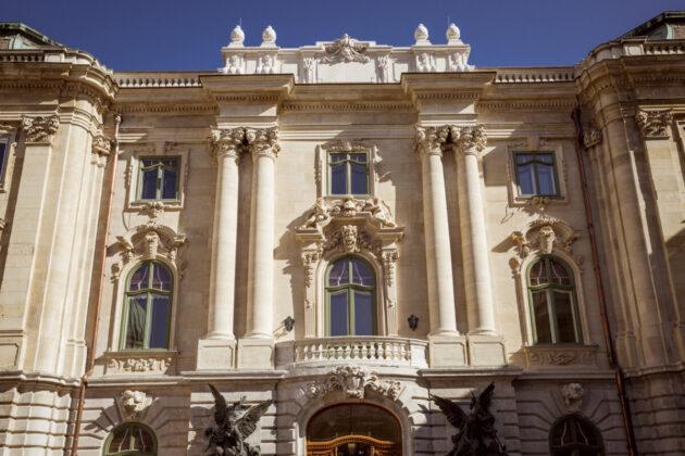Budavári Palota déli összekötő szárnya - Forrás: Várkapitányság