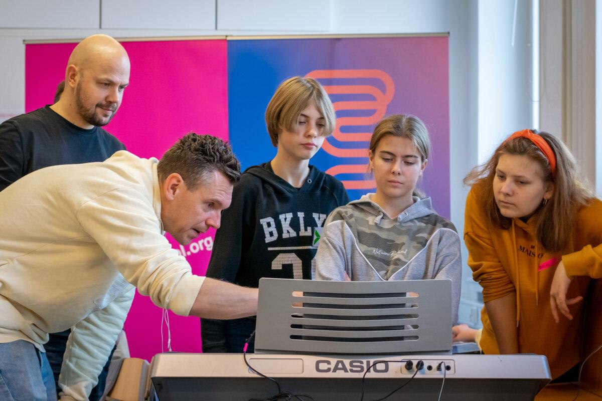 Kreatív zeneíró workshop Finnországban - fotó: Artisjus