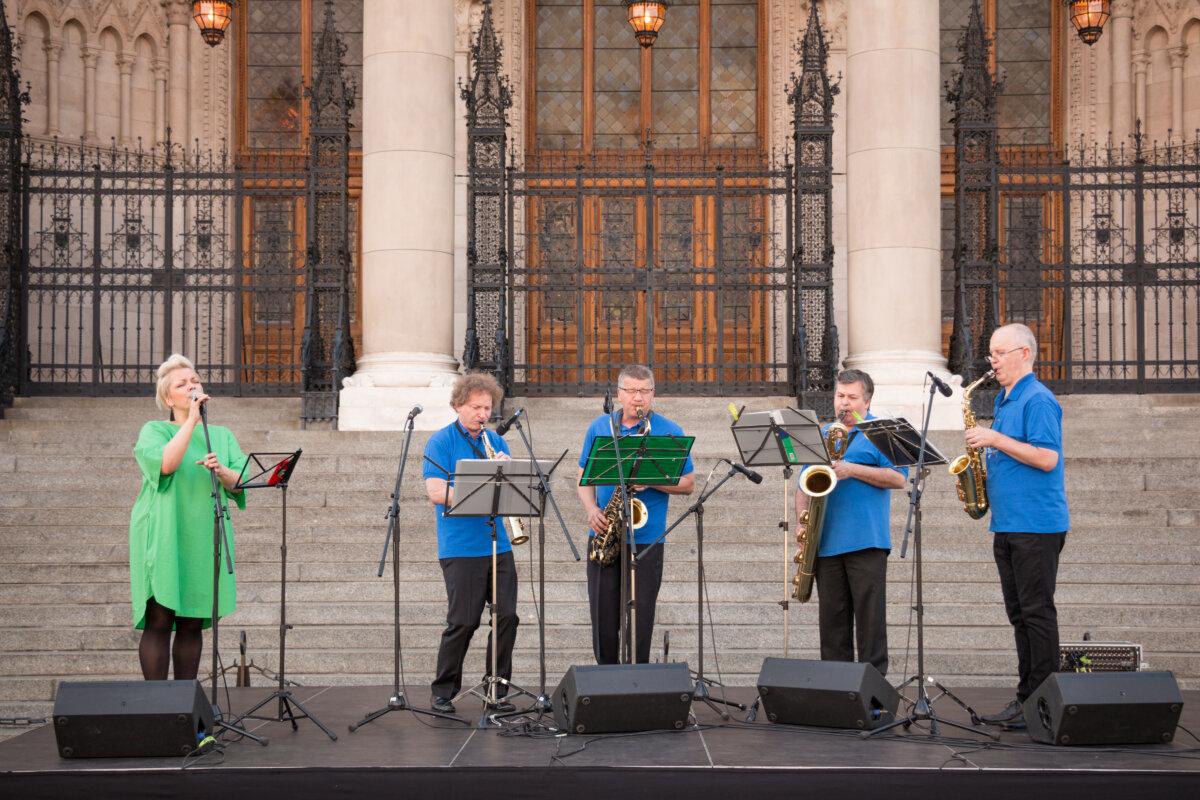 TérZene Fesztivál - Götz Kvartett - fotó: Nagy Bogi/Zenélő Budapest