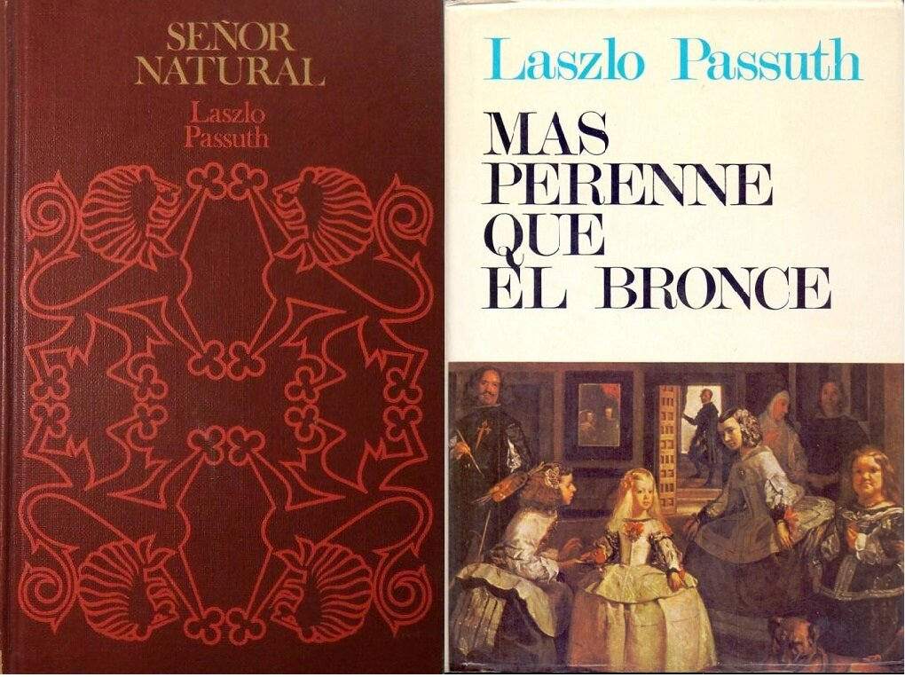 A Fekete bársonyban és A harmadik udvarmester spanyol nyelvű kiadásai - Forrás: todocollection.es és abebook.com