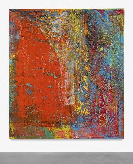 Gerhard Richter: A.B. Still – forrás: Sotheby's