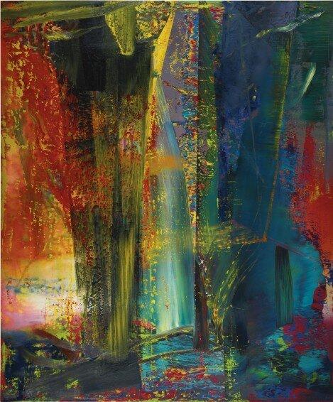Gerhard Richter: Abstraktes Bild (1986) – forrás: Sotheby's