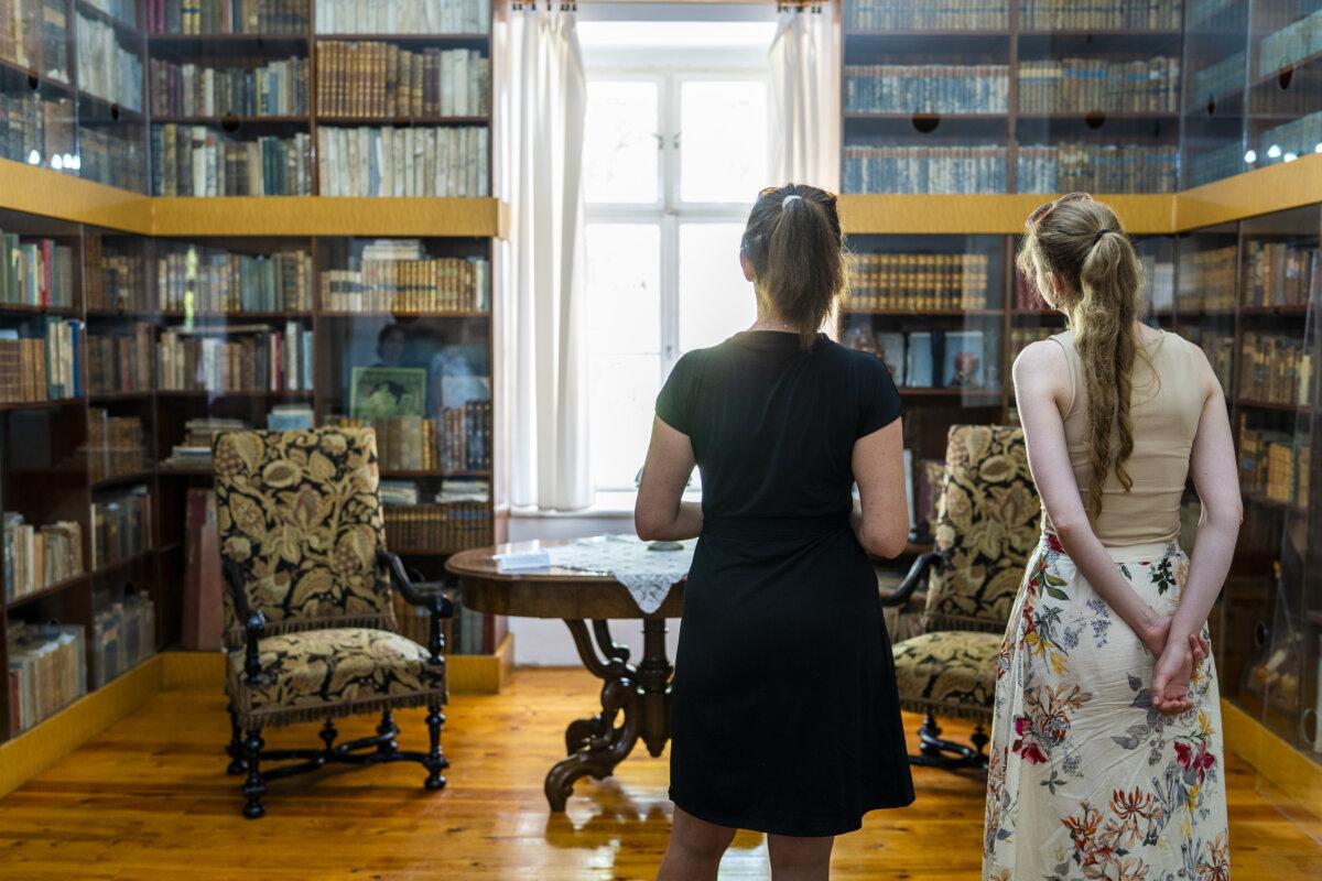 Zichy Mihály könyvtára