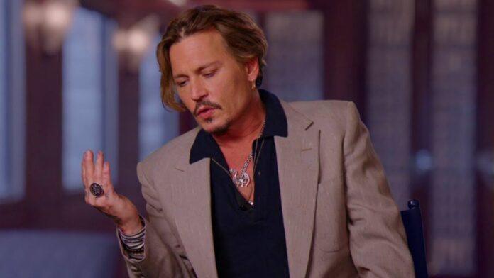 Johnny Depp - forrás: YouTube