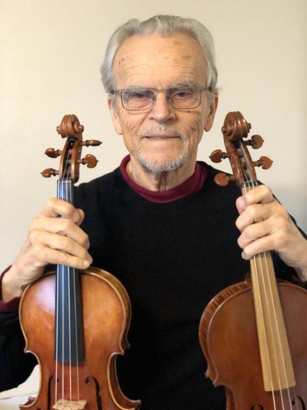 a Stradivari-kutató, prof. Nagyvári József - forrás: Texas A&M University