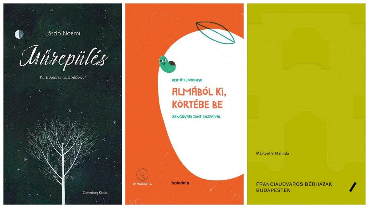 A Szép Magyar Könyv 2020 verseny díjazott kötetei