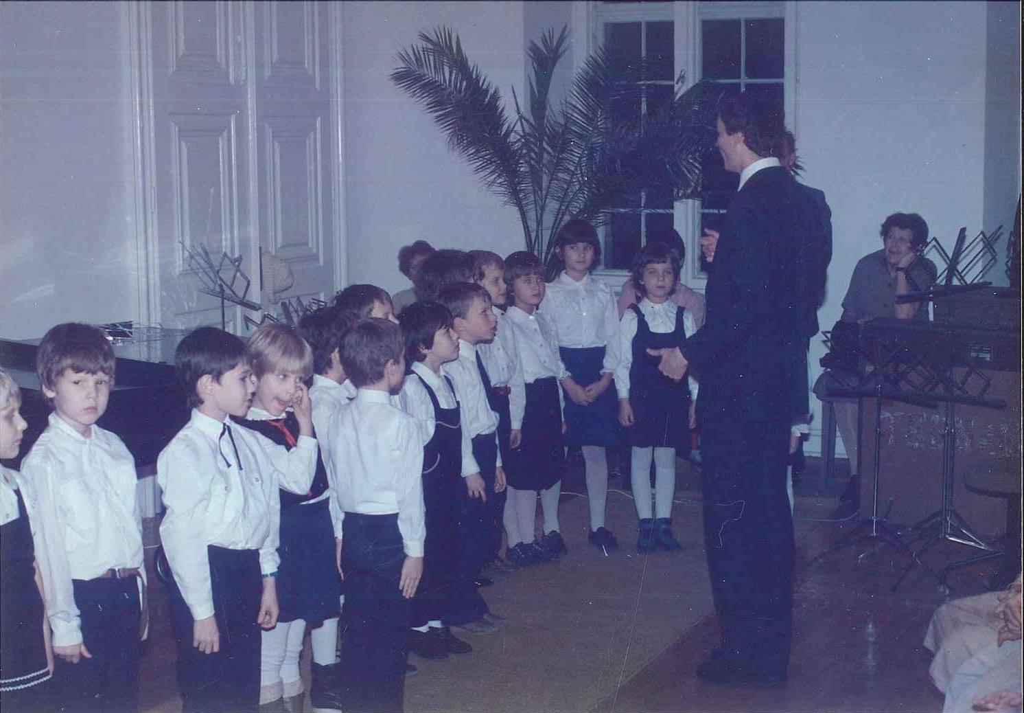 Budapesti Énekesiskola, 1987 - forrás: az interjúalany tulajdona