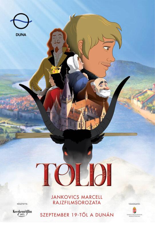 Toldi rajzfilm plakát - forrás: port.hu